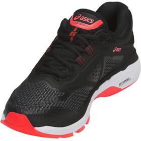 asics GT-2000 6 Shoes Women Black/Flash Coral